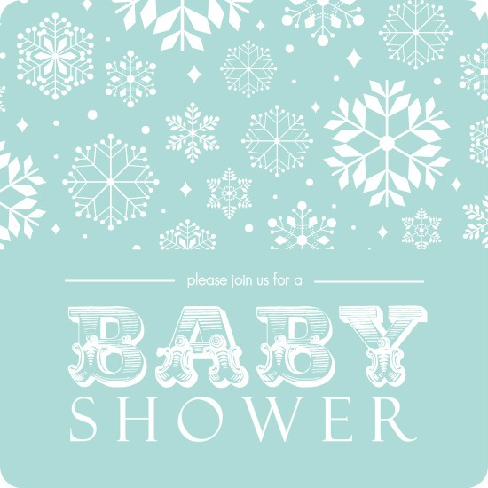 Winter Baby Shower Ideas Invitations Decorations amp More