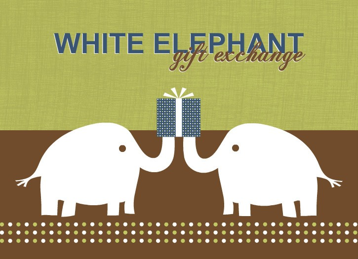 White Elephant Gift Exchange At Wedding : Gift Exchange Ideas: Games for Office, Work, & Family Holiday Parties