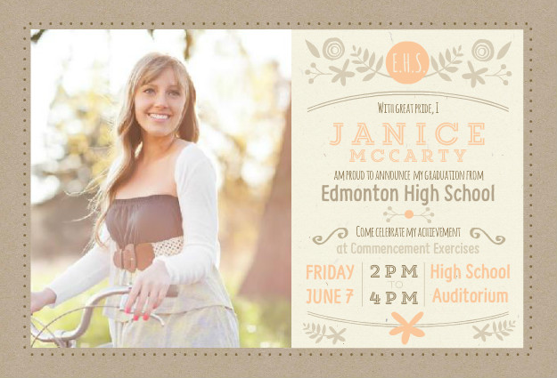 high school graduation party ideas, themes, college open house ideas, Party invitations