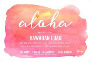 Summer Party Themes: Luau Party Ideas