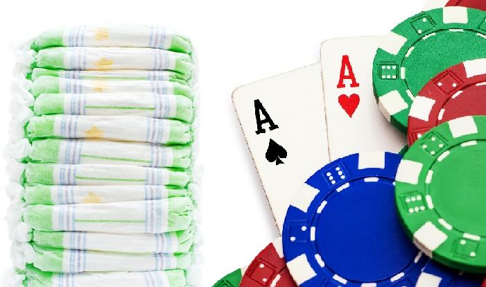 Poker baby shower ideas