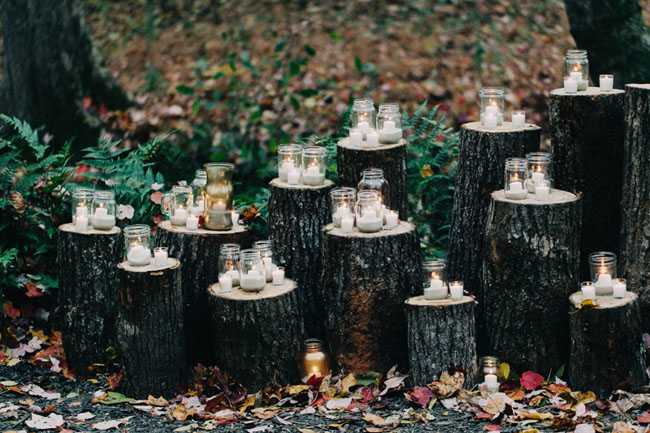 Slikovni rezultat za forest wedding lanterns