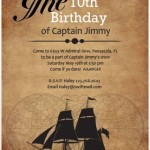 Ahoy Matey! Step Aboard for a Pirate Birthday Party