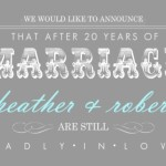Inexpensive Wedding Anniversary Ideas