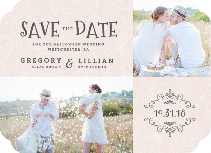 When To Send Out Save The Dates How To Address Save The Dates – Halloween Wedding Save the Dates