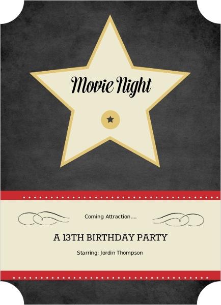 Oscar Party Ideas Host An AwardWinning Oscar Party – Oscar Party Invitations