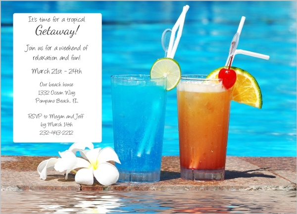 Pool party ideas and bbq inspiration summer celebration for Summer drinks for party