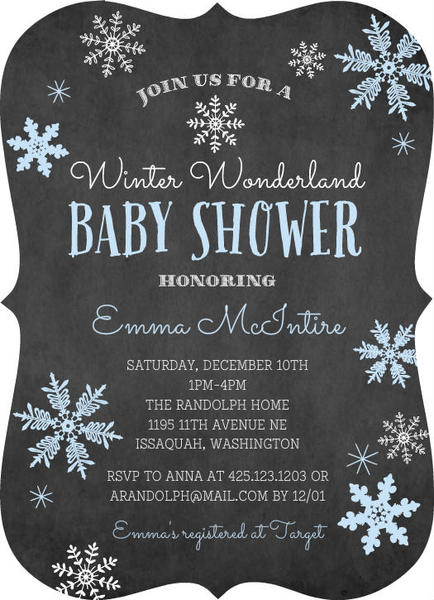 winter baby shower ideas invitations, decorations,  more, Baby shower