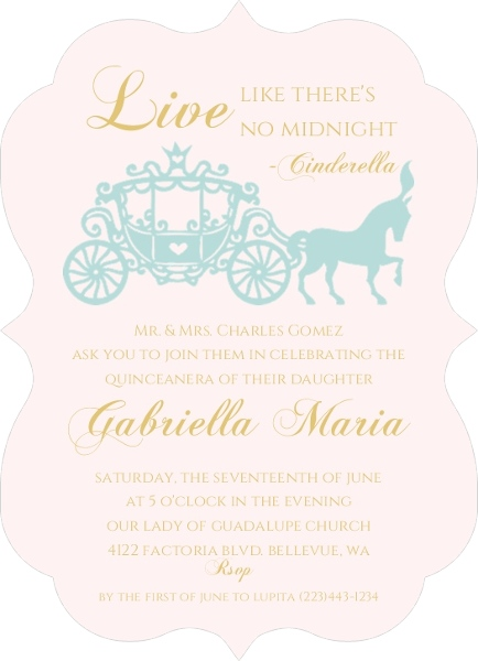 quinceanera invitation wording ideas  u0026 inspiration from