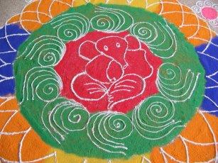 Large Rangoli Design