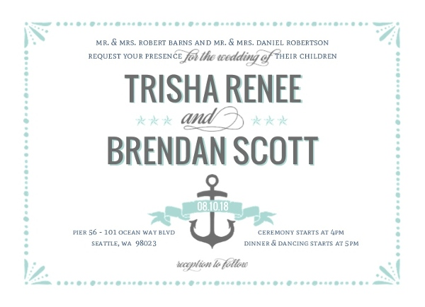 Postcard Wedding Invitations Wording Vintage Beach Rustic Vegas – Wedding Invite Ideas Wording