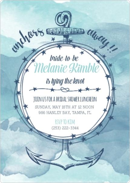 Bridal Shower Themes Fun Cute Nautical Outdoor Brunch Ideas