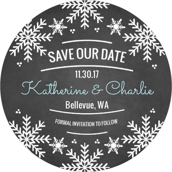 Winter Wonderland Wedding Ideas Invitations Themes DIY Decorations – Winter Wedding Save the Dates