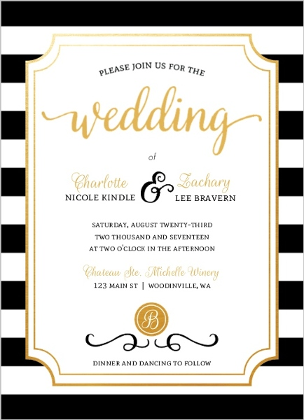 How To Word Wedding Invitations Invitation Wording Ideas Etiquette – Non Formal Wedding Invitation Wording