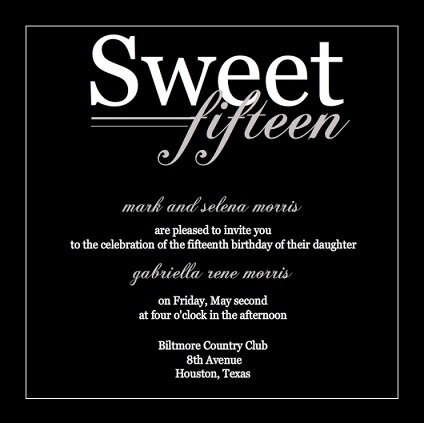 Quinceanera Invitations From Purpletrail