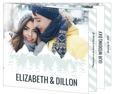 Winter Wedding Invitation Wording Winter Wonderland Holiday Themes