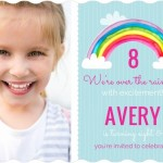New Rainbow Birthday Party Invitations, Birthday Wording, Decorations, Games