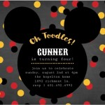 Mickey Mouse Birthday Party Ideas: Invitations, Party Ideas, Games, Decorations, Crafts
