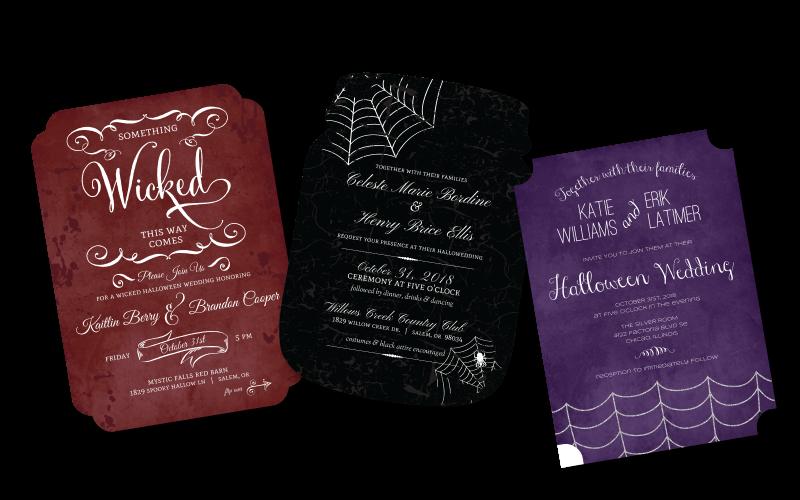 Halloween Invitation Wording Ideas From PurpleTrail