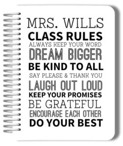 classroom-rules-custom-teacher-planner