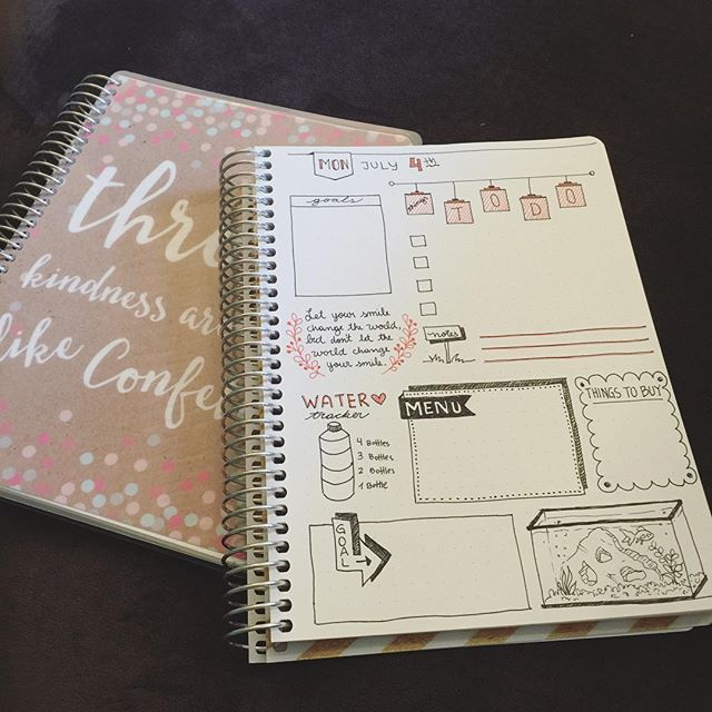 bullet journal from PurpleTrail