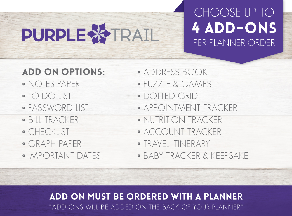 PurpleTrail student planners