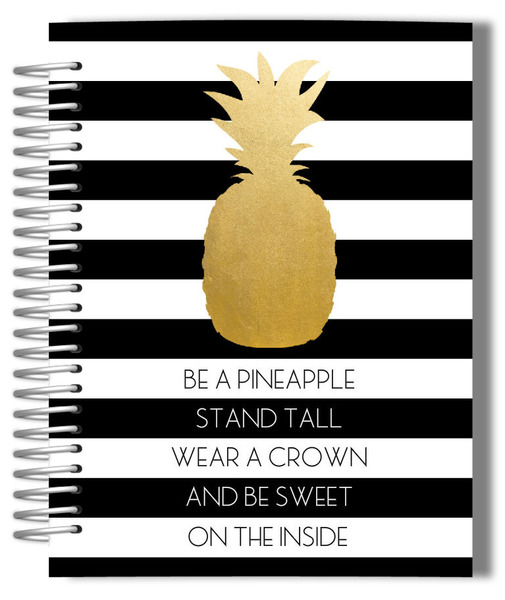 modern-golden-pineapple-quote-bullet-journal