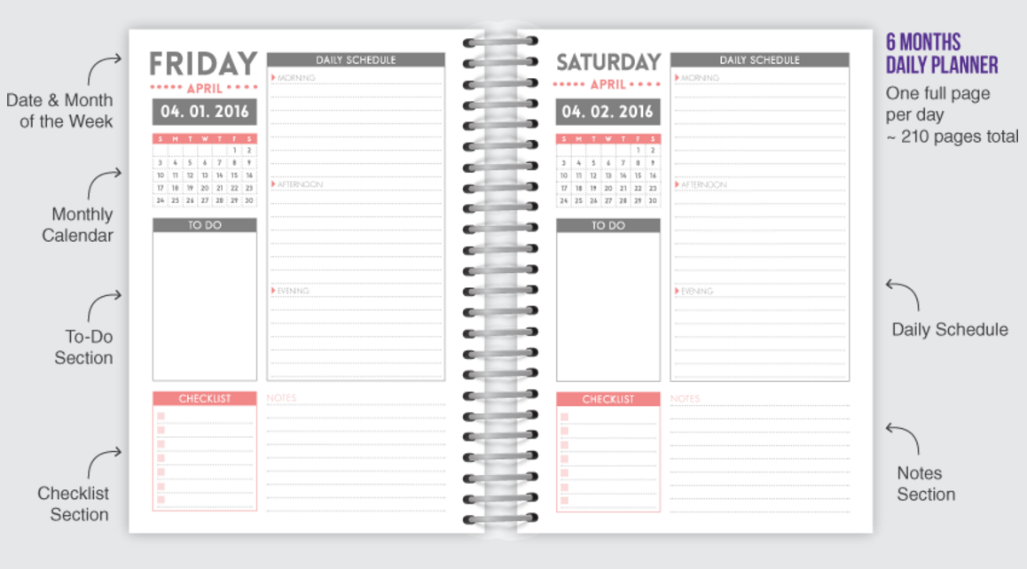 daily planner by purpletrail invitation ideas