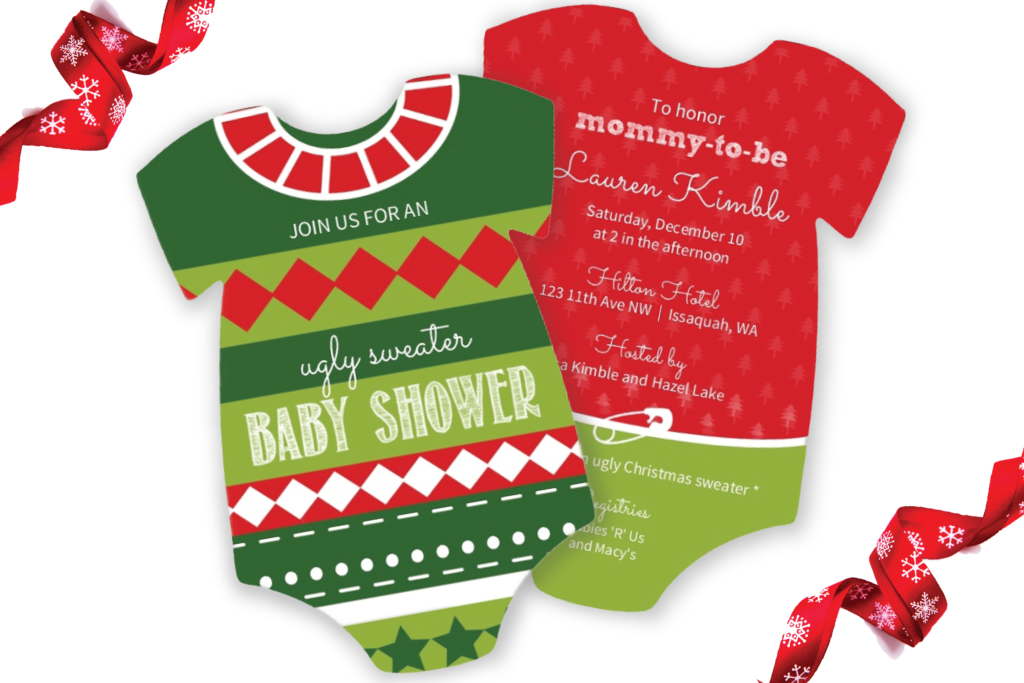 Top 5 Christmas Themed Baby Shower Ideas Invitation Ideas