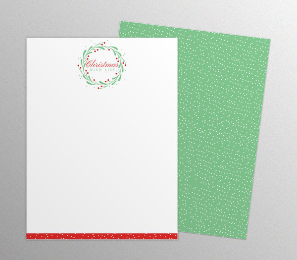 whimsical-chritmas-wreath-notepads