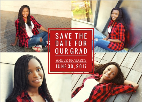 graduation save the dates
