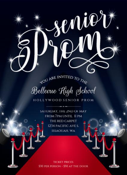 Hollywood-prom-invitation