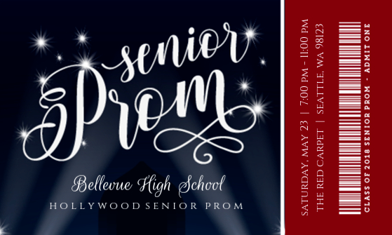 Hollywood-prom-ticket