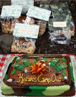 Birthday Ideas For A 13 Year Old Tomboy Camping Themed Party On Classic Boys Campout
