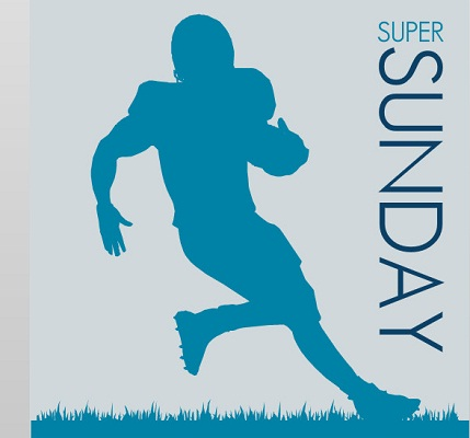 Super Sunday Football Super Bowl Party Food Ideas Invitation
