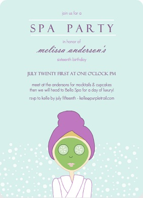 Kids Spa Party Ideas Tips From Purpletrail