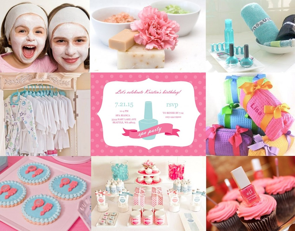 Kids spa party ideas tips from purpletrail for Event planning ideas parties