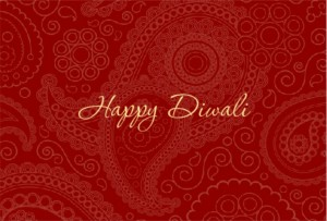 Diwali decorations party inspiration from purpletrail beautiful red paisley diwali decorations card stopboris Choice Image