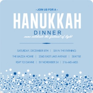 Hanukkah card wording ideas from purpletrail blue hanukkah card wording ideas dinner invitation m4hsunfo
