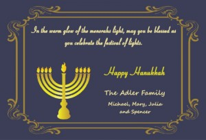 Hanukkah invitation wording ideas from purpletrail classic hanukkah invitation wording menorah blue gold m4hsunfo