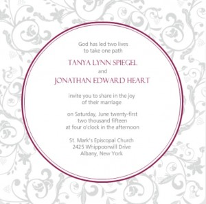 Wedding invitation wording ideas from purpletrail couple hosted wine garden wedding invitation by purpletrail filmwisefo