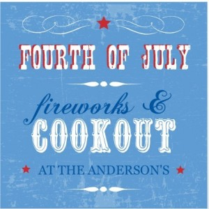 4th of July Fireworks and Cookout