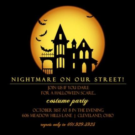 halloween trivia halloween party invitation by purpletrail