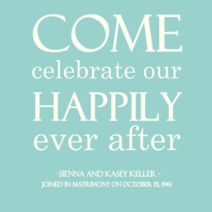 Anniversary Invitation Wording Ideas From PurpleTrail