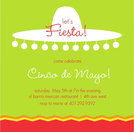 Fiesta Invitations Invitation Wording Ideas By Purpletrail