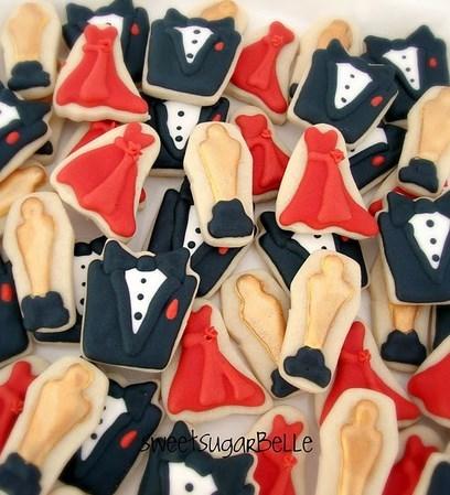 oscar party sugar cookies