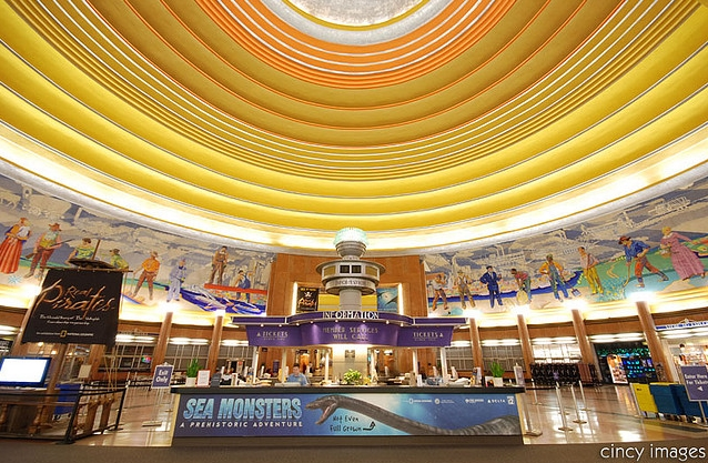 Unique wedding venue ideas americas most beautiful unique venues unique wedding venue ideas cincinnati union terminal dome and murals photo courtesy of city images junglespirit Gallery