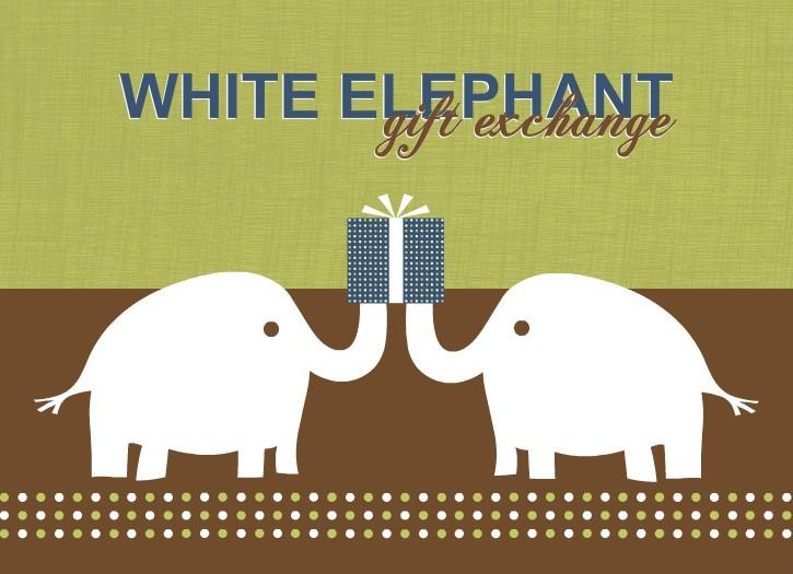 white elephant gift clipart free - photo #39