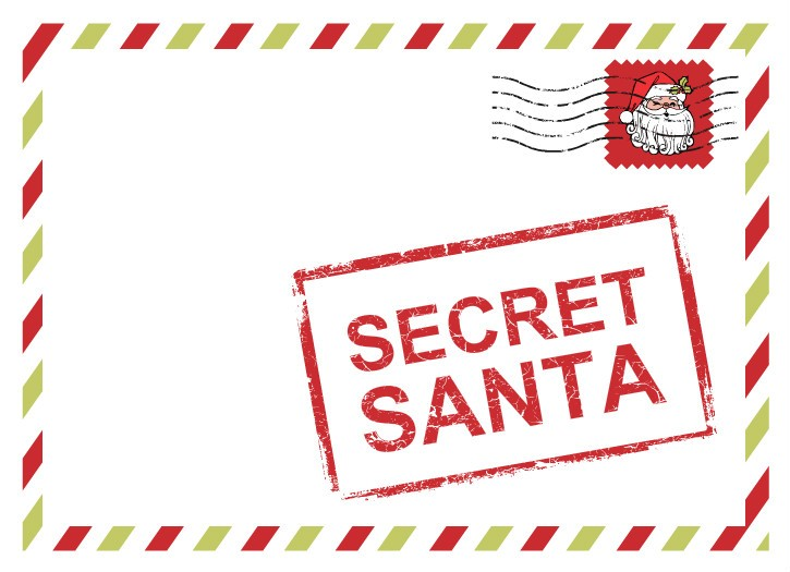 Gift exchange ideas games for office work family for Secret santa email template