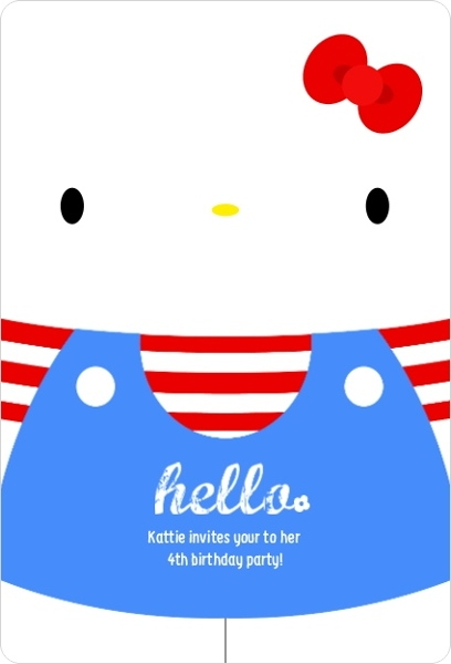 Hello kitty birthday party ideas invitations wording crafts 30 adorable cute hello kitty birthday party ideas solutioingenieria Images